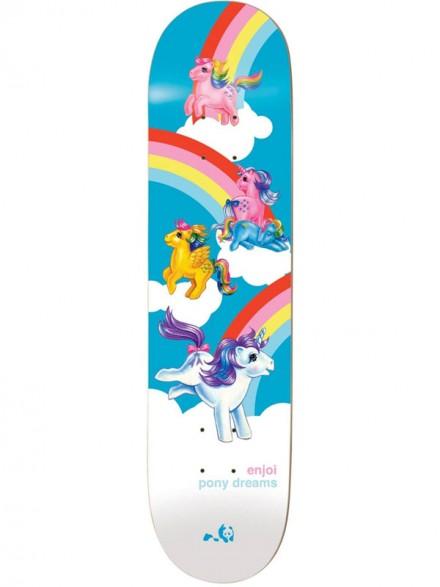 "Tabla Enjoi My Little Pony Dreams R7 Multi 8.125"" X 31.7"""