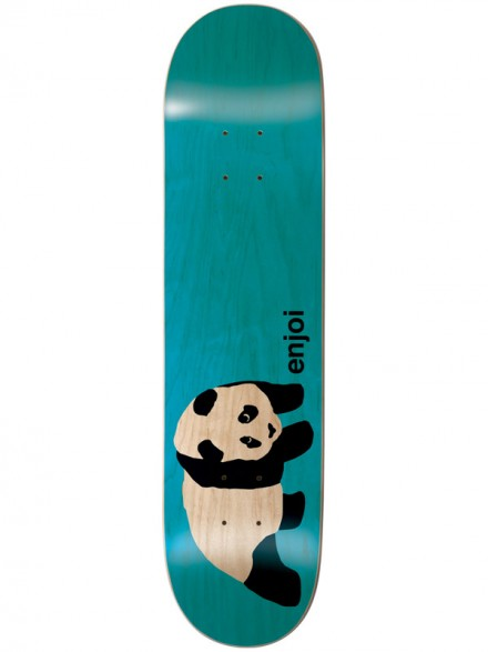 Tabla Enjoi Original Panda Clear Turquoise 7.75