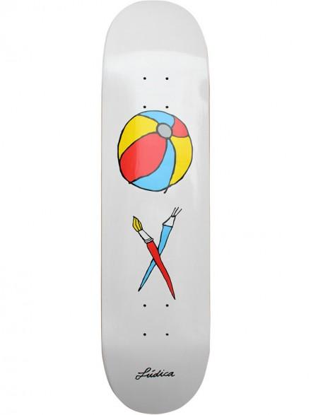 Tabla Skate Ludica Pelota 8.5