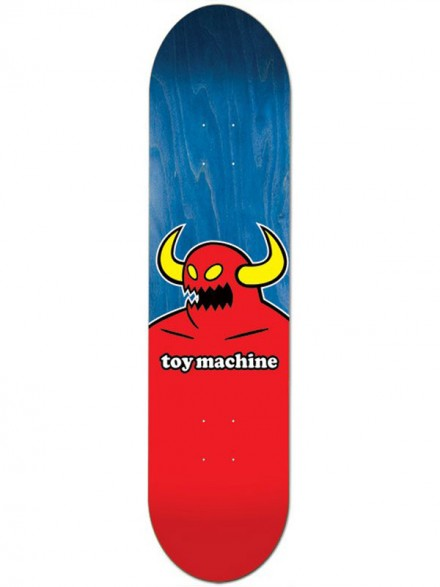 """Tabla Toy Machine Monster Medium Blue 7.75"""""""