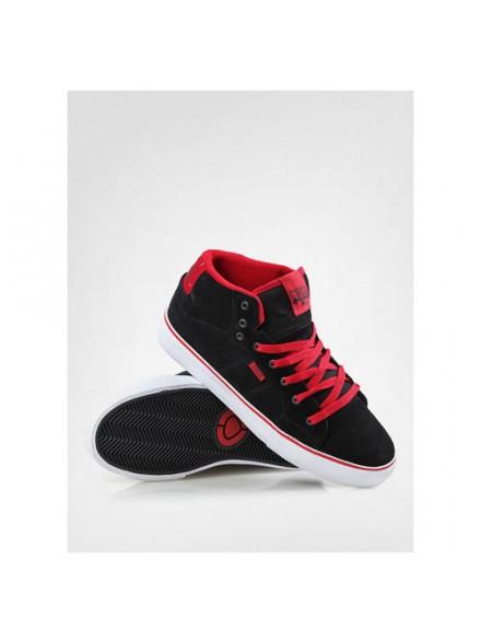 Tenis Skate Circa Cero Ht Blk/True Red 10