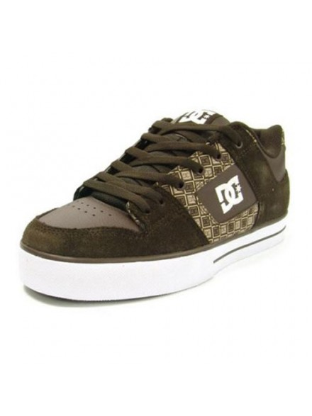 Tenis Skate Dc Mens Pure Xe Brown/Chocolate