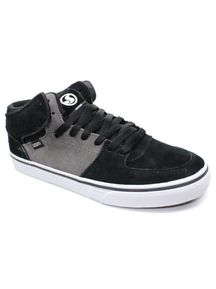 Tenis Skate Dvs Torey Blk/Gry/Wht Suede