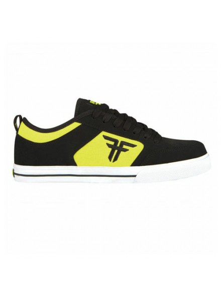 Tenis Skate Fallen Clipper Se Black/Fluro Yellow