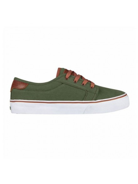 Tenis Skate Fallen Forte Surplus Green/Saddle Brown 6.5