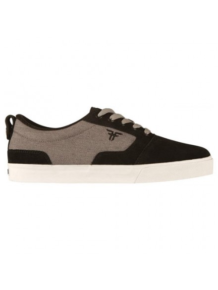 Tenis Skate Fallen Kingston Black/Grey 8.5