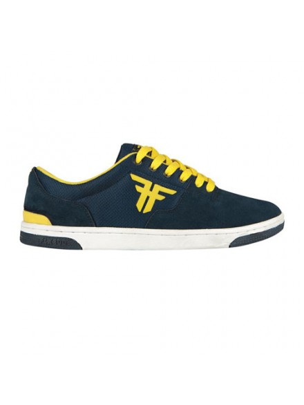 Tenis Skate Fallen Seventy Six Midnight Blue/Fluro Yellow