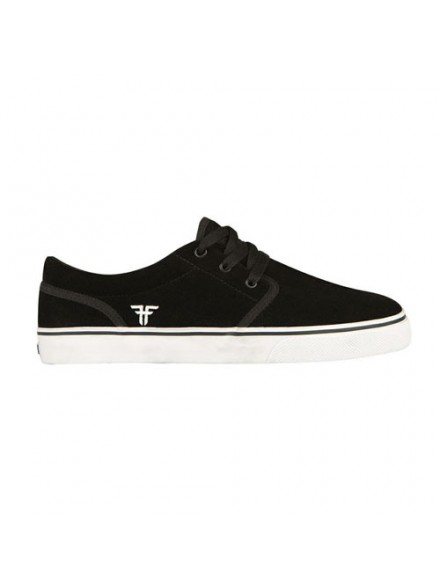 Tenis Skate Fallen The Easy Black/White Ii 7
