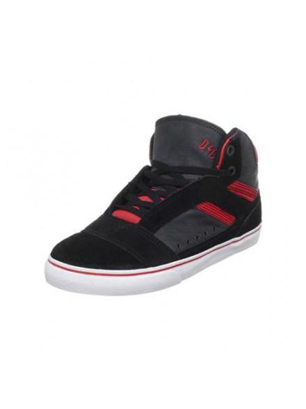 Tenis Skate Globe The Heathen Hi Black Red 8
