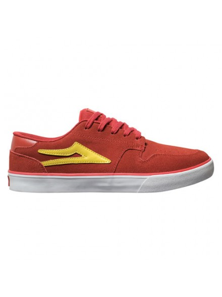Tenis Skate Lakai Carroll 5 Dark Red