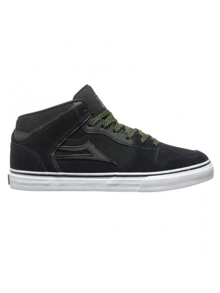 Tenis Skate Lakai Carroll Select All Weather Black Suede 10.5
