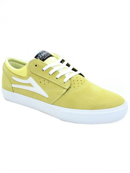 Tenis Lakai Griffin X Krooked Dusty Yellow Suede