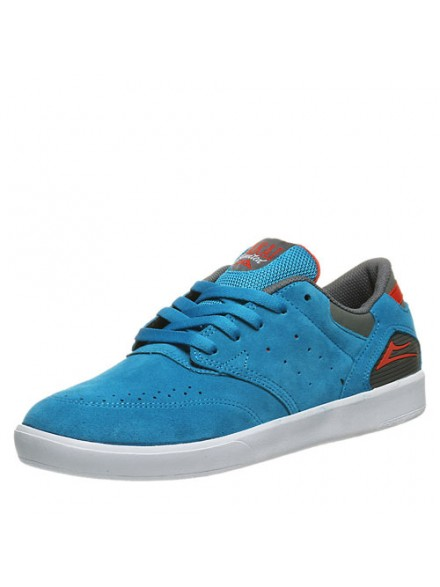 Tenis Skate Lakai Guy Bright Blue Suede