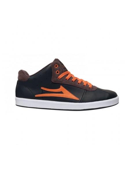 Tenis Skate Lakai Guy Hi Xlk Black Aw Leather