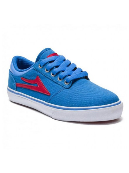 Tenis Skate Lakai Kids Brea Royal Canvas 3