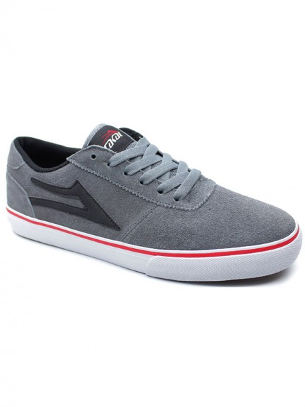 Tenis Lakai Manchester Gry Red Suede