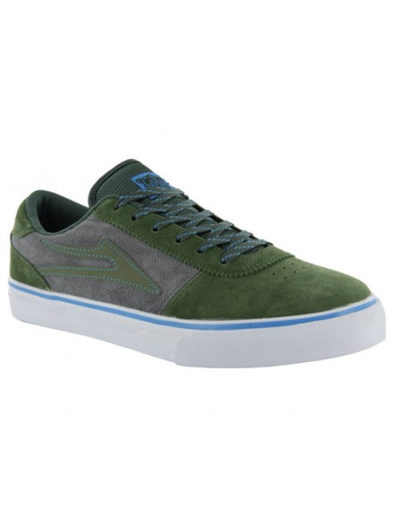 Tenis Skate Lakai Manchester Olive Suede 10