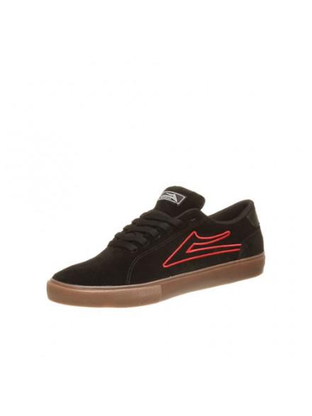 Tenis Skate Lakai Mariano Black/Red Gum Suede