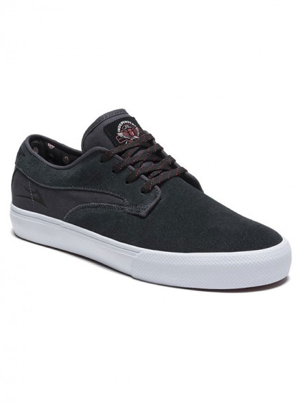 Tenis Lakai Riley Hawk X Independent Charcoal Suede