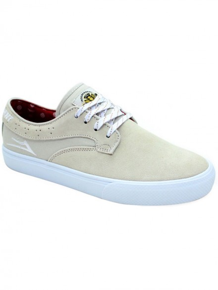 Tenis Lakai Riley Hawk X Independent White Suede