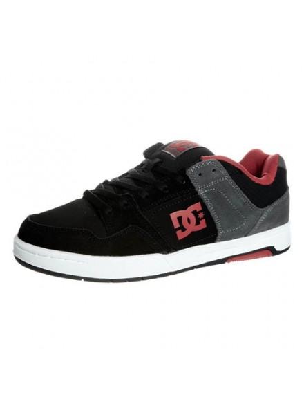 Tenis Skate Dc Hacker Black/Grey/Red