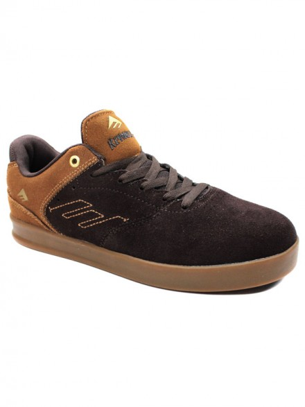 Tenis Emerica The Reynolds Low Brn Gum