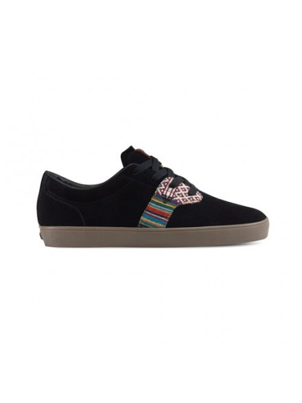 Tenis Skate Fallen Chief Xi Blk Native