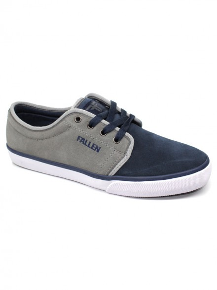 Tenis Skate Fallen Forte 2 Midnight Blue Cement Gry
