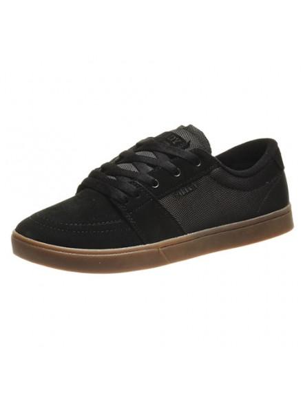Tenis Skate Fallen Rambler Black/Gum