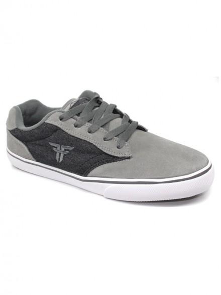 Tenis Skate Fallen Slash Cement Grey Ash Grey