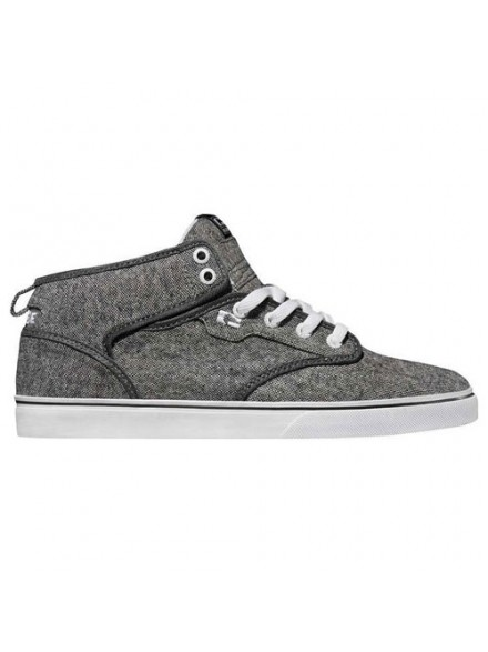 Tenis Skate Globe Motley Mid Distressed Gry Wht