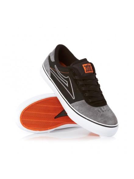 Tenis Skate Lakai Manchester Select Black/Grey Suede 7