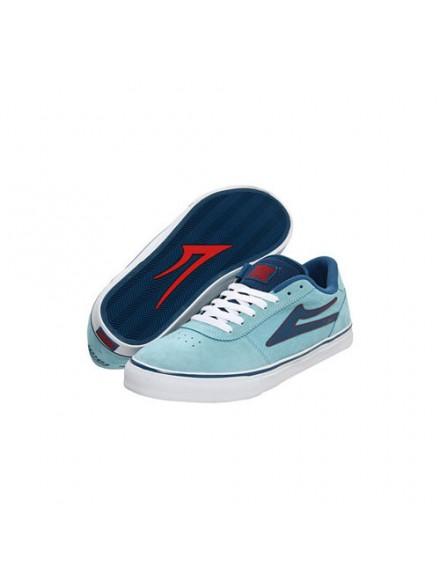 Tenis Skate Lakai Manchester Sky Blue Suede 5