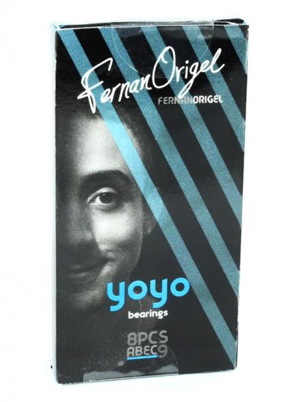 Baleros Yoyo Fernando Origel Azul