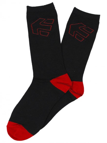 Calcetas Etnies Legacy Black Red
