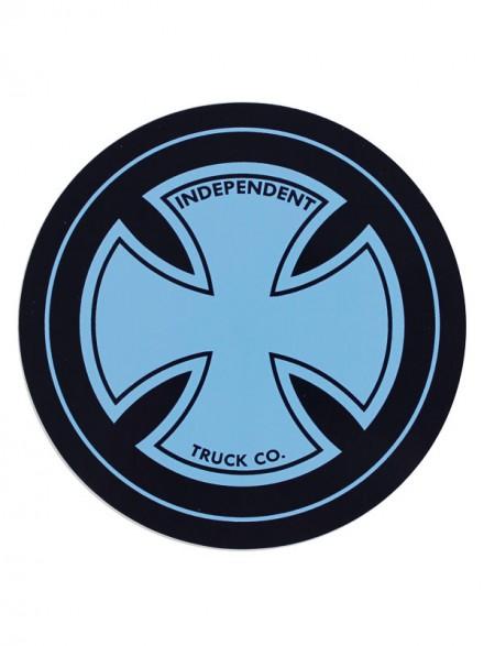 Calcomanía Independent Strike Cross Navy 10cm Diametro