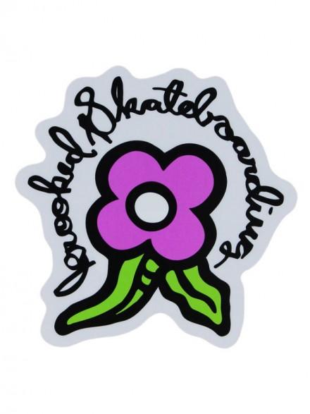 Calcomanía Krooked Bloom Purple 12.6X12.6cm