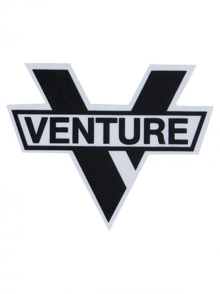 Calcomanía Venture Bar Die Cut Black 6.8X8.5cm