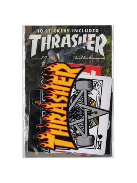 Calcomania Thrasher Pack