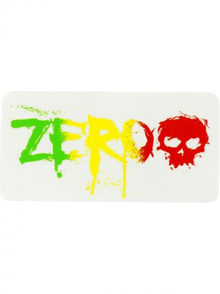 Calcomanía Zero Blood Rasta 12.8X6.4cm