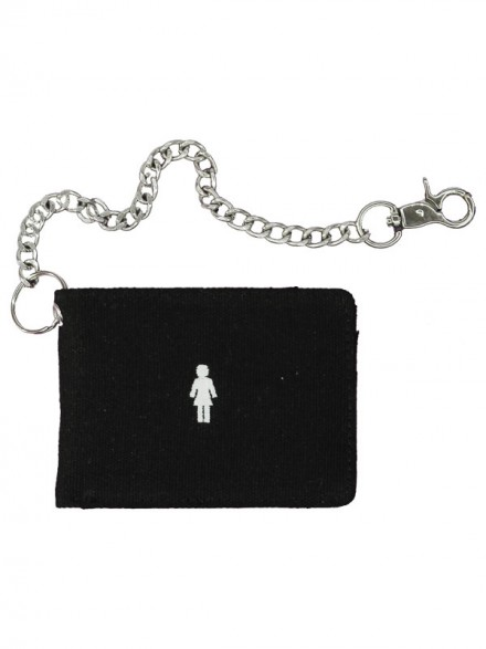 Cartera Girl Micro OG Canvas Chain Black