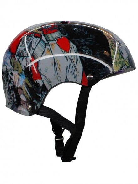 Casco Skate S-One Big Head Artis Collab