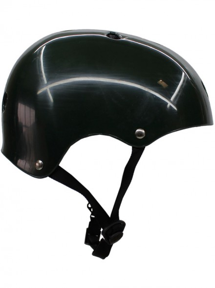Casco Skate S-One Big Head Dark Green