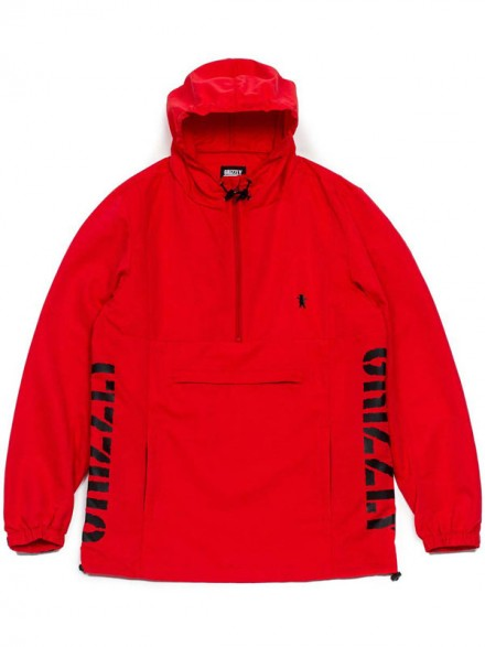 Chamarra Grizzly Medalist Anorak Red