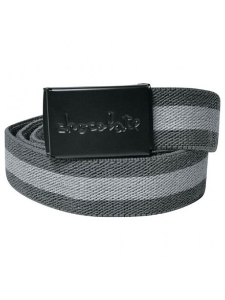 Cinturon Chocolate Striped Scout Grey Black
