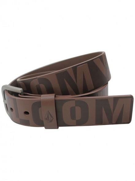 Cinturon Volcom Divot Belt Brn
