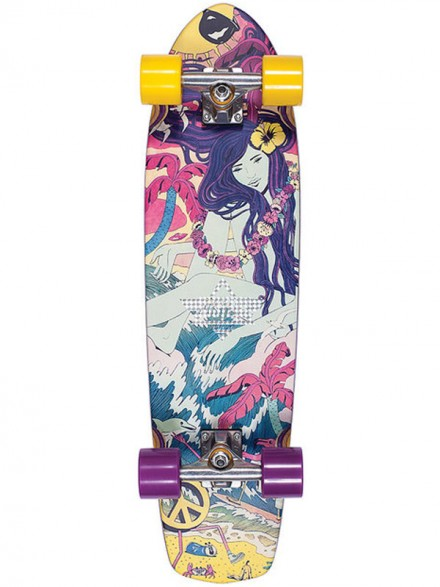 """Cruiser Dusters Lucy Yellow Purple 31"""""""