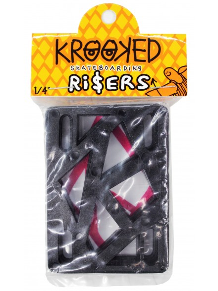 Elevadores Krooked Black 1/4