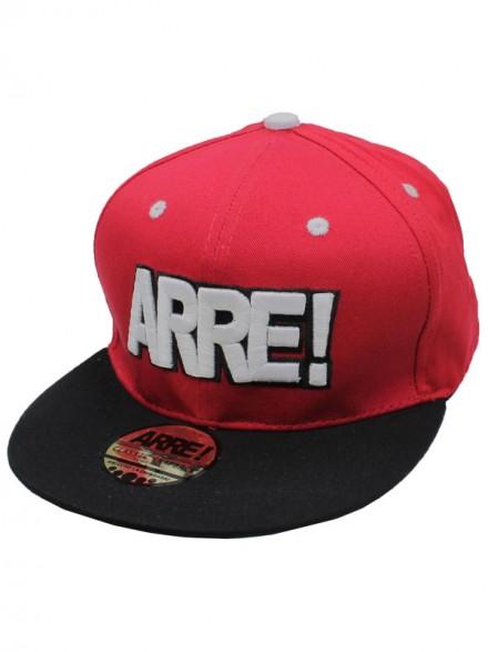 Gorra Arre! Og Logo Rojo Negro