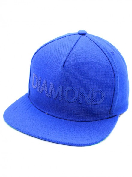 Gorra Diamond Team Snapback Blu